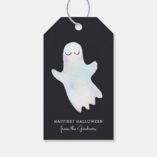 Cutest Little Ghost Halloween Gift Tags