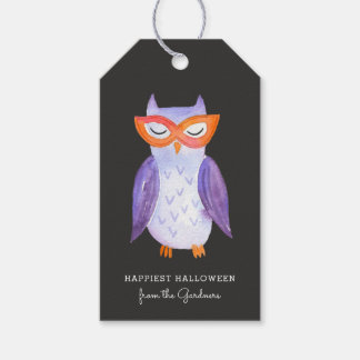 Cutest Little Owl Halloween Treat Tags Pack Of Gift Tags
