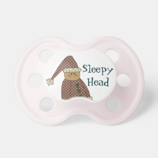 Cutest Little Sleepy Head Sleepyhead Pacifier