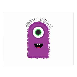 Cutest Monster Post Card