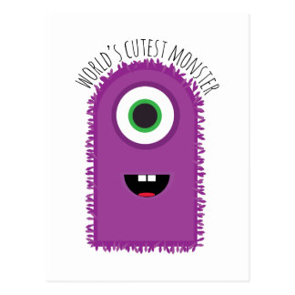Cutest Monster Post Cards