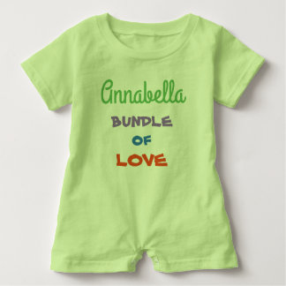 Cutest Personalize Baby Rompers Baby Clothing
