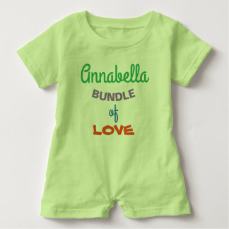 Cutest Personalized Baby Rompers Baby Clothing
