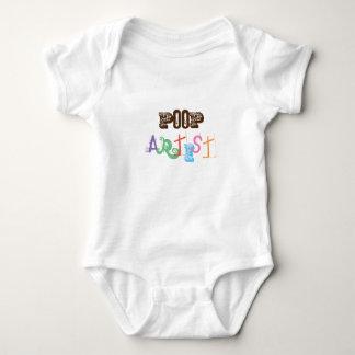 "Cutest ""POP"" art for babies! Baby Bodysuit"