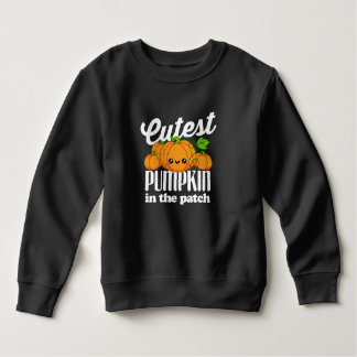 Cutest Pumpkin In The Patch Fall Halloween Autumn Sweatshirt