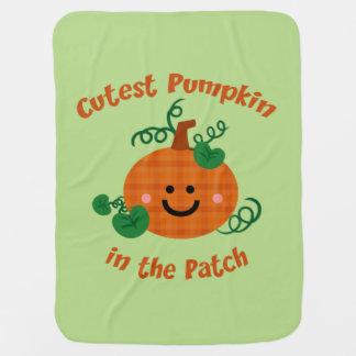 Cutest Pumpkin Stroller Blanket