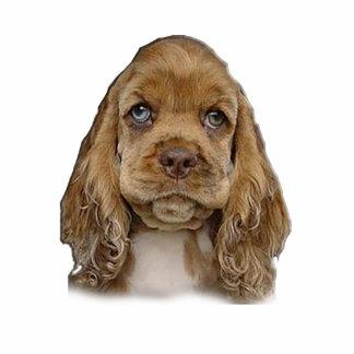 Cutest puppy photo sculpture keychain