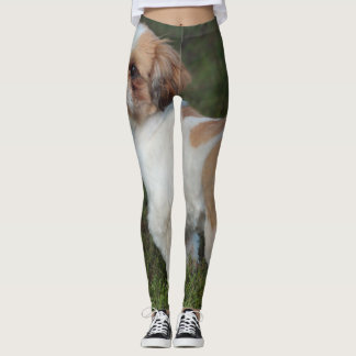 Cutest Shih Tzu Leggings