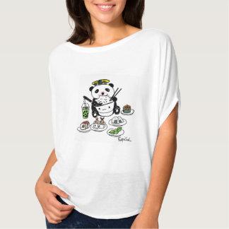 Cutest Sushi Bubble Tea Panda Ever T-Shirt