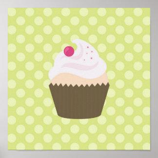 Cutesy Cupcake Poster