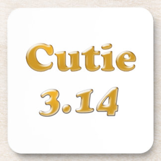 Cutie 3.14 Pi Day Coaster