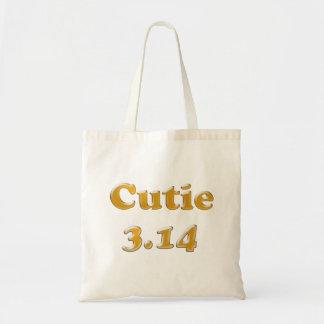 Cutie 3.14 Pi Day Tote Bag