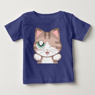 Cutie Cat Baby Fine Jersey T-Shirt