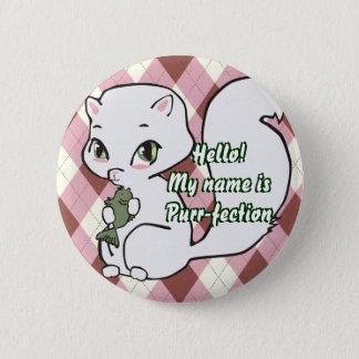 Cutie Cat Button