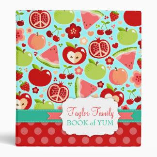 Cutie Fruities Binder