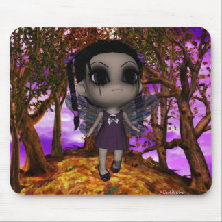 Cutie Goth Fairy Fly 2 Mouse Pad
