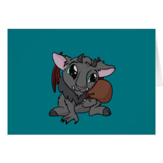 Cutie Krampus! Card