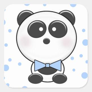 Cutie Panda Boy Sticker