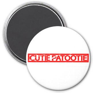 Cutie Patootie Stamp Magnet