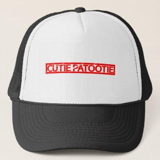 Cutie Patootie Stamp Trucker Hat