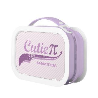 Cutie Pi Geek Girl lunchbox