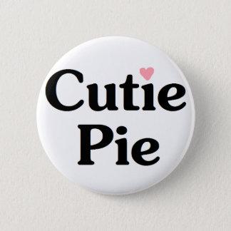 Cutie Pie 2 Inch Round Button