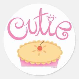 Cutie Pie Sticker