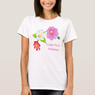 Cutie Pie's Mommy and Baby Matching Clothes TShirt