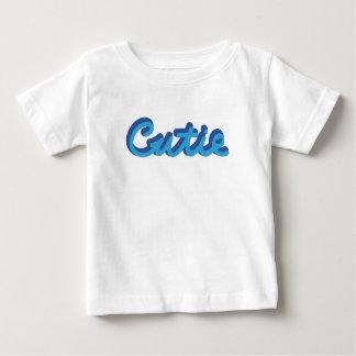 Cutie Sky/Navy Baby T-Shirt