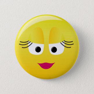 Cutie Smilie 2 Inch Round Button