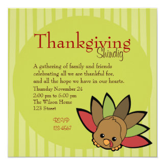 Cutie Turkey Card