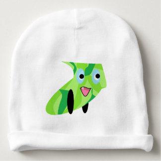 Cutieful Kids Art Design Cute Green Puppy Dog Baby Beanie