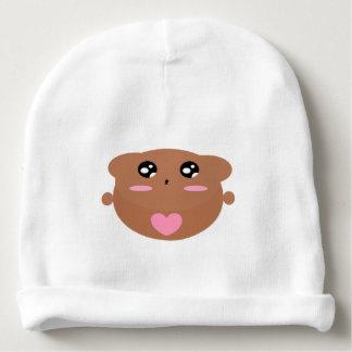 Cutieful Kids Art Design Cute Teddy Bear In Love Baby Beanie