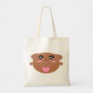 Cutieful Kids Art Design Cute Teddy Bear In Love Tote Bag