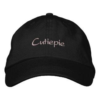 Cutiepie Embroidered Baseball Cap