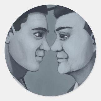 Cuties In Love: Mango Seltzer Classic Round Sticker