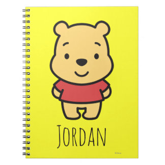 Cuties Winnie the Pooh - Personalized Notebooks