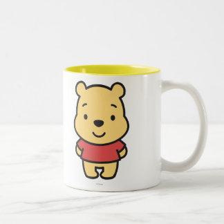Cuties Winnie the Pooh Two-Tone Coffee Mug