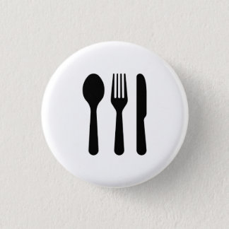 'Cutlery' Pictogram Button