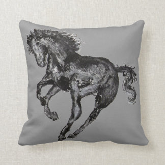 Cutomize your own color Horse Pillow