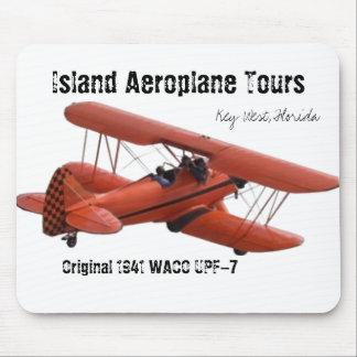 cutoutbiplane, Island Aeroplane Tours, Key West... Mouse Pad
