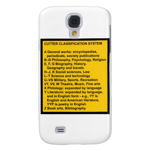 Cutter Expansive Classification Samsung Galaxy S4 Case