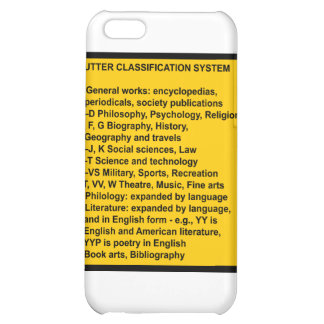Cutter Expansive Classification Case For iPhone 5C