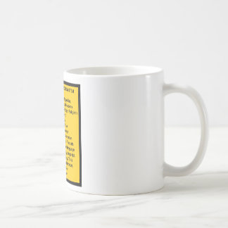 Cutter Expansive Classification Coffee Mug