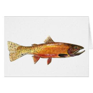 Cutthroat Trout card