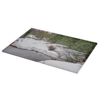 Cutting Board Glass Moose Wildlife