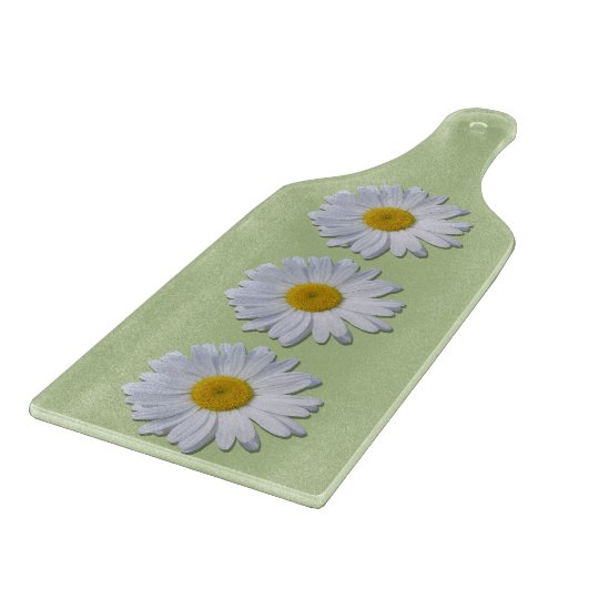 Cutting Board - New Daisies on Sage