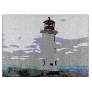 Cutting board Peggy's Cove Nova Scotia Canada