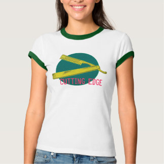 Cutting Edge Ladies Ringer Tee