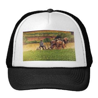 Cutting Hay Trucker Hat